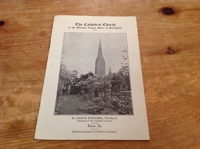The Cathedral Church of the blessed Virgin Mary of Salisbury A visitors guide