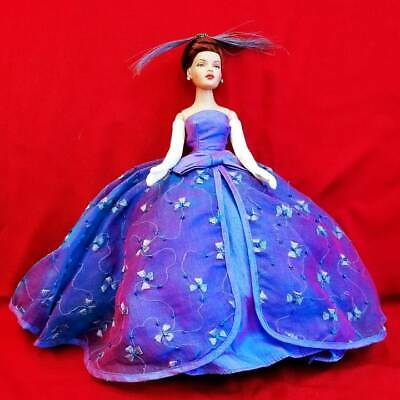 "11"" Tiny Kitty Collier Red Hair in Blue Aurora dress Robert Tonner"