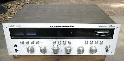 Marantz 2270 Vintage Stereo Receiver 500 Watts  (Tested, Working)