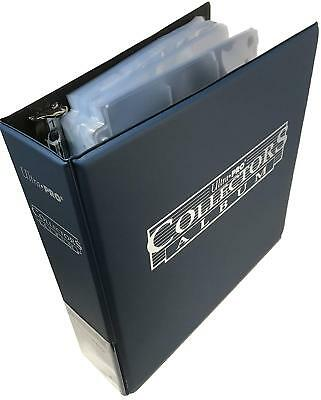 Ultra Pro Ring Binder & 100 9-Pocket Trading Card Pages Combo - Holds 1800 Cards