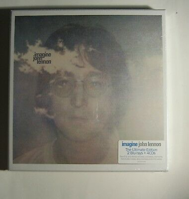 John Lennon Imagine Ultimate Edition 2 Blu-rays + 4 CDs Beatles Extras NEW NR