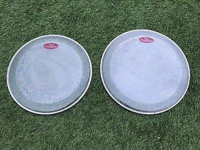 "PEARL PROTONE 12"" And 13"" CLEAR DRUM HEADS"