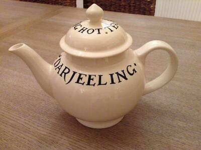 Emma Bridgewater Toast & Marmalade Large 4 Cup Teapot..mint Condition