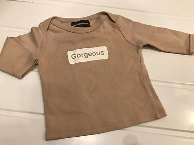 "Baby 6-12 Months Bob & Blossom   ""Gorgeous"" Long Sleeve Top Good Condition"
