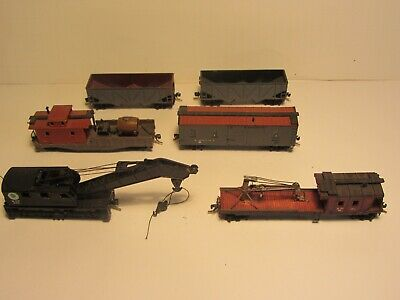 Maintenance of Way (MofW) Cars  N Scale 6 Different