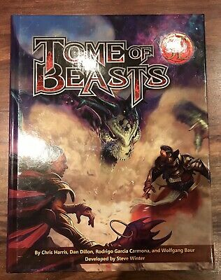 Tome Of Beasts 5E, D&D