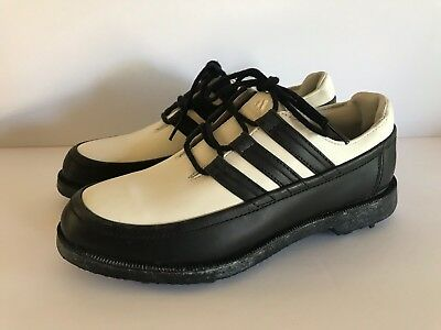 ADIDAS Z TRAXION Golf Shoes Size 6 1 2 White Black -  29.99  29a1ee04d85