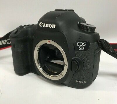 CANON EOS 5D MARK III 22.3 MP Body Only Shutter count 24866