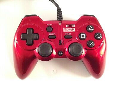 HORIPAD Hori Pad 3 Turbo Plus Red PS3 PlayStation 3 Wired USB Controller