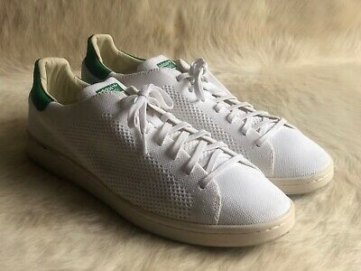 Adidas Stan Smith S75146 White Green Men s US13 Primeknit India Athletic  Shoes 9da8b73f0