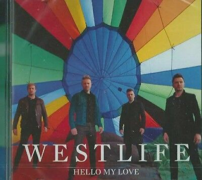 Westlife Hello My Love  Limited Edition Cd Single with fold out poster