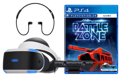 Sony PlayStation VR Battlezone Bundle 2019 Latest Model CUH-ZVR2