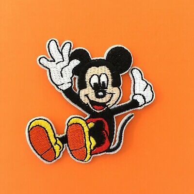 DISNEY MICKEY MOUSE DOG PLUTO EMBROIDERED APPLIQUÉ PATCH SEW OR IRON ON #463