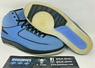 1d4598a69de6fa Air Jordan 2 II QF University Blue Black Candy Pack (2010) 395709-401
