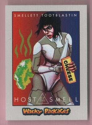 2018 Wacky Packages Goes To The Movies Host Of The Smell Silver Parallel 28/50