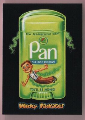 2018 Wacky Packages Goes To The Movies Pan Black Ludlow Back #'d 59/99