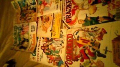 7 issues of cracked magazine. Like mad