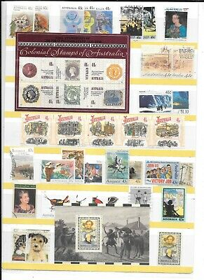 Stamps Aust Decimal Collection  Used 1990-2005  500+ Minis Sheets Etc On Special