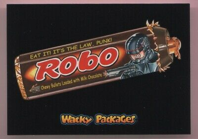 2018 Wacky Packages Goes To The Movies Robo Red Ludlow Back #'d 22/25
