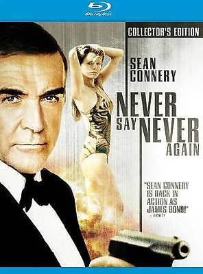 Never Say Never Again (Collector's Edition) [Blu-ray], NEW