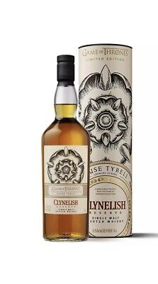 Clynelish Reserve Single Malt Scotch Whisky 70cl - House Tyrell Game Of Thrones