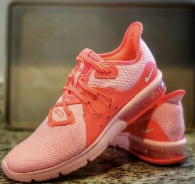 NIKE AIR MAX Sequent 3 Womens 908993 601 Pink New Size 8