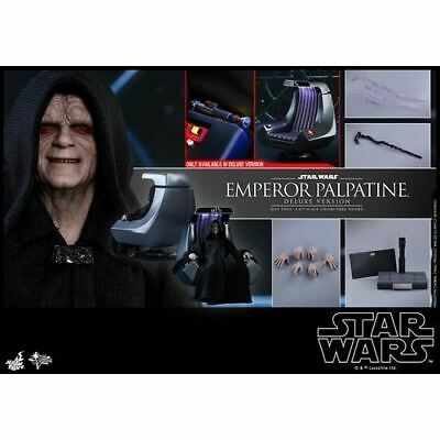 MMS468 Hot Toys 1/6 Star Wars Return of the Jedi Emperor Palpatine Deluxe Figure