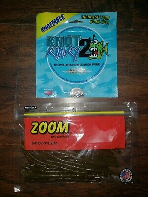 Knot 2 Kinky Nickel-Titanium Leader Wire 3m 7 Strand 11.36kg 25lb 10ft