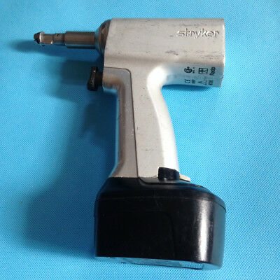 USED Stryker System-4  4106 4115 Reciprocating Saw  Handpiece With battery