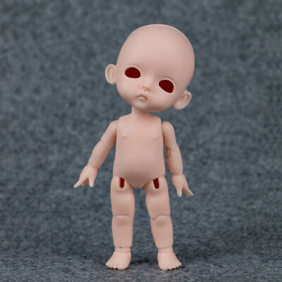 BJD Doll 1//8 CuteLuna Little Girl Unpainted Bare Doll without Any Make Up Resin