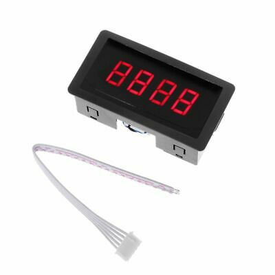 Digital Counter DC LED 4 Digit 0-9999 Up/Down Plus/Minus Panel Counter Meter wit