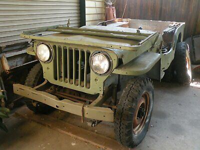 m38 cj3a willys jeep