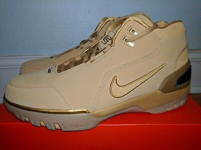 new concept 7ae07 44bca NIKE AIR ZOOM Generation Asg Qs Lebron Wheat Gold Mens 10.5 ...