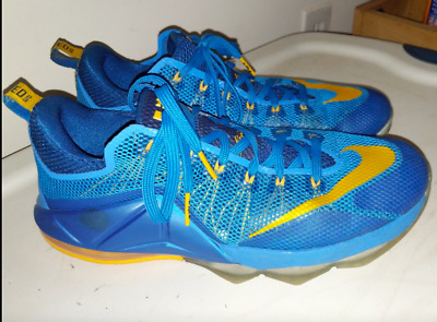 fc2f5278a22b NIKE LOT LEBRON XII 12 Low 724557-484 Blue 724557-616 Red All Over ...