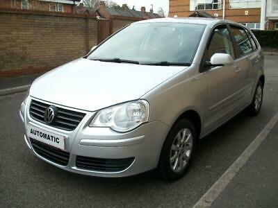 2008 Volkswagen Polo 1.4 SE 5dr Petrol silver Automatic