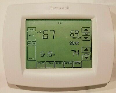 Honeywell Th8320U1008 7-Day Visionpro 8000 Touchscreen Programmable Thermostat