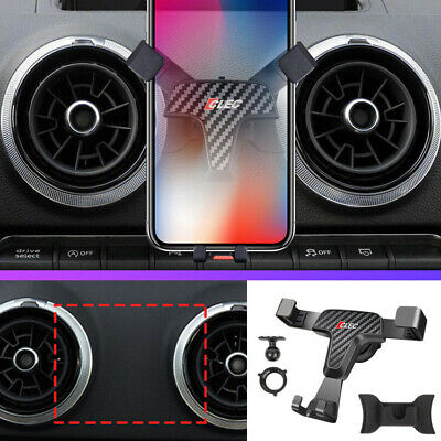 Mobile Cell Phone Holder Car Air Vent Mount Cradle Stand For Audi A3 8V 14-19