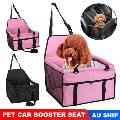 Auto Pet Car Booster Seat Cat Dog Protector Puppy Safety Carrier Travel Basket