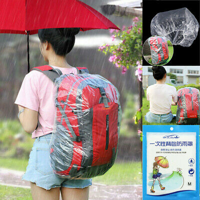 Waterproof Dust Rain Cover Bag For Backpack Rucksack Traval Camp Hiking 20-55L