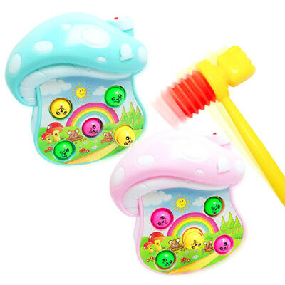 2pcs Plastic kids handle hammer hit hamster toy accessories baby gift toys_H