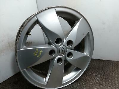 "2011 Renault Megane 16"" Silver Alloy Wheel 5 Spoke 6.5jx16 ET47 Proteus 04"