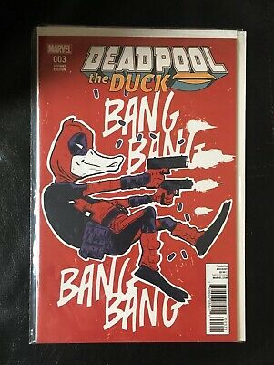 Marvel Comics Deadpool the Duck #3  Variant 2017  Bagged& Board