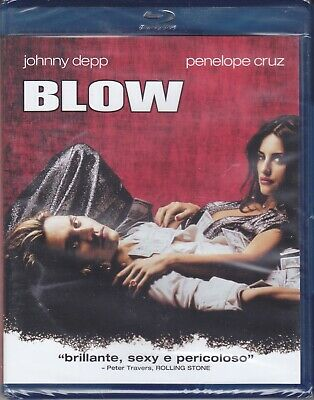Blu-ray **BLOW** con Johnny Depp Penelope Cruz nuovo 2001