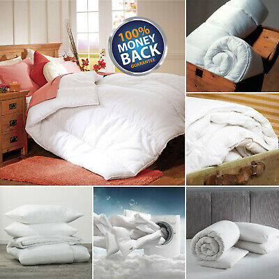Thick Microfiber Duvet 10.5, 13.5, & 15 Tog Warm Bedding Single Double King Size