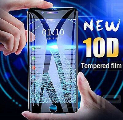 2019 Curved Guard 10D Tempered Glass Screen Protector Film For Apple iPhone XR