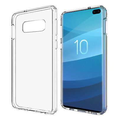 For Samsung Galaxy S10 Plus S10e S10 Case Shockproof TPU Soft Clear Phone Cover