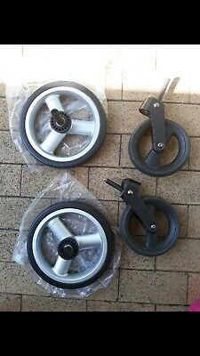 NEW 4 wheels steelcraft pram back and front