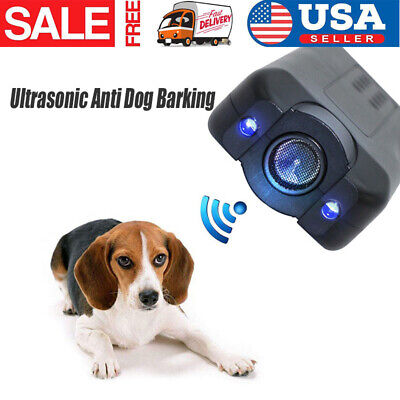 Ultrasonic Anti Dog Barking Pet Trainer LED Light Gentle Chaser1 Petgentle Style