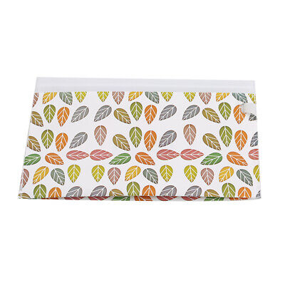 Stylish EVA Leaves Print Pouch Travel Wipes Holder Refillable Wet Wipe Bag N7