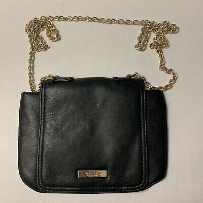 Crossbody Chain Versace Bag Parfums Black Gold Cosmetic wNm8n0